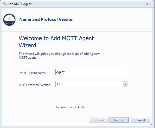 Add MQTT Agent