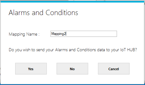 Alarms and Conditions | Integration Objects